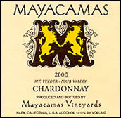 Mayacamas Vineyards stylish Chardonnay